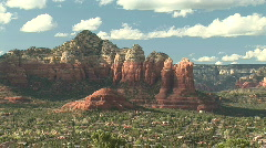 Red Rocks of Sedona, Arizona Stock Footage