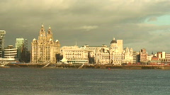 Liverpool Waterfront. HD 1080i Stock Footage