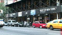 Traffic Upper West Side 2 Stock Footage