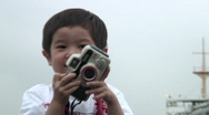 Stock Video Footage of Child with camera