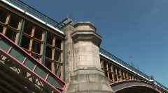 Blackfriars Bridge London (Lon035) Stock Footage