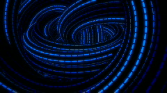 Blue Neon Loops HD 1080p Stock Footage