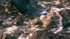 Ocean foam Stock Footage