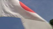 Stock Video Footage of Japanese flag