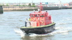 Liverpool Rescue Boat (Liv030b) Stock Footage