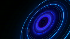 Neon Radio Waves HD 1080p NTSC Stock Footage