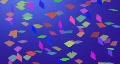 Confetti HD720 HD Footage