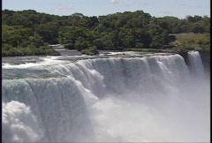 Classic Niagara Falls Portrait Stock Footage