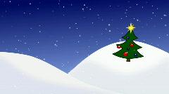 Christmas_tree Stock Footage