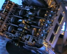 engine showing all parts - stock footage
