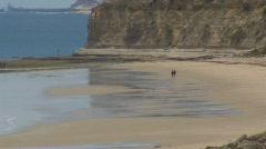 Pt Willunga Beach Ocean Stock Footage