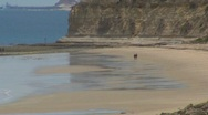 Stock Video Footage of Pt Willunga Beach Ocean