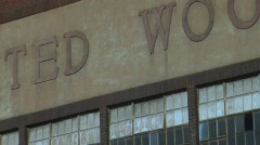 Wool Store - stock footage