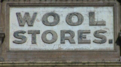 Wool Stores Pt Adelaide - stock footage