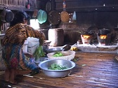 Stock Video Footage of Cambodia: Preparing food