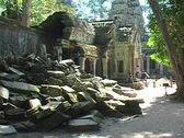 Stock Video Footage of Cambodia: Temple Ruins near Siem Reap