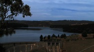 Stock Video Footage of Myponga Reservoir Far Shot
