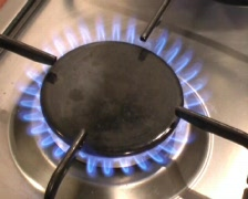 Gas flame Stock Footage