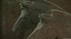 Terra Cotta Horses in Xian, China - Terracotta Horses Stock Footage