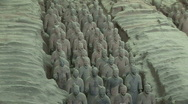 Stock Video Footage of Terra Cotta Warriors