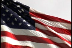 Snappy flag Stock Footage