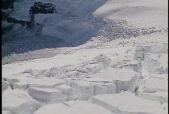 Athabasca Glacier 1 - stock footage