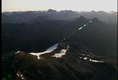 Hector Glacier Stock Footage