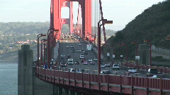 Golden Gate Bridge, San Francisco, California Stock Footage