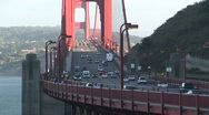 Stock Video Footage of Golden Gate Bridge, San Francisco, California