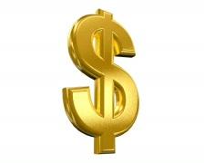 Dollar rotate LOOP+LUMA key (PAL 25p) Stock Footage