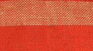 Stock Video Footage of Background from linen textile, close-up