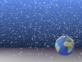 Stock Video Footage of Snowy Earth PAL