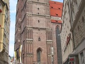 Frauenkirche, Munich Stock Footage