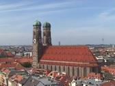 Frauenkirche, Munich Stock Footage
