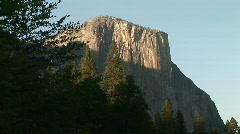 El Capitan, Yosemite National Park, California Stock Footage