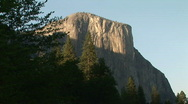 El Capitan, Yosemite National Park, California Stock Footage