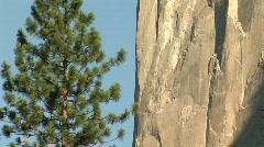 El Capitan, Yosemite National Park, California - stock footage