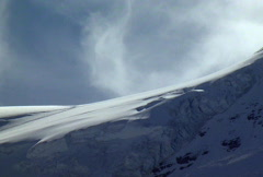Ice and Clouds - stock footage