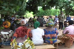 Togo, Africa: Woman's Group Stock Footage