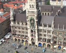 Rathaus Munich Stock Footage