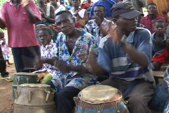 Togo, Africa: African Drums Stock Footage