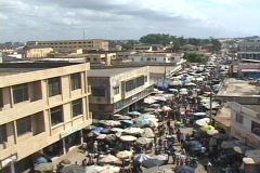 Togo, Africa: Streets of Lome, Togo - stock footage
