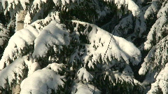 Winter scenics fourteen Stock Footage