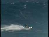 Stock Video Footage of Jaws jetski