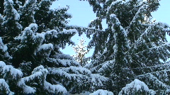 Winter scenics eighteen Stock Footage