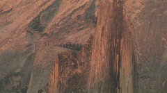 Half Dome, Yosemite National Park, California Stock Footage