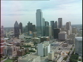 Stock Video Footage of Dallas Skyline