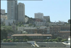 San Francisco Skyline pan Stock Footage