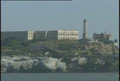 Alcatraz  Stock Footage