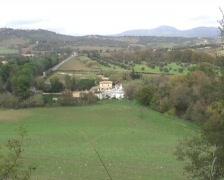 Cascade of saturnia -  Tuscany -  Italy - zoom in Stock Footage